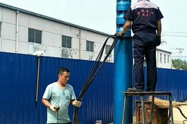 水池用潜水泵320方105米,叶轮镀搪瓷更加耐磨缓解含砂量过大,发往宁夏