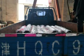 耐高温热水泵专车发往山东