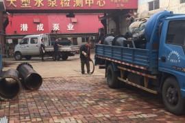 潜成大流量低扬程400方30米蜗牛泵天津西青安装现场走起